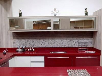 Orçamento de Porta em Alumínio para Móveis de Cozinha Caierias - Portas de Perfil em Alumínio para Móveis
