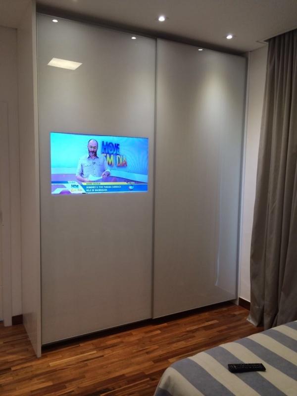 Porta de Correr de Móveis Embu - Portas de Vidro para Móveis Planejados