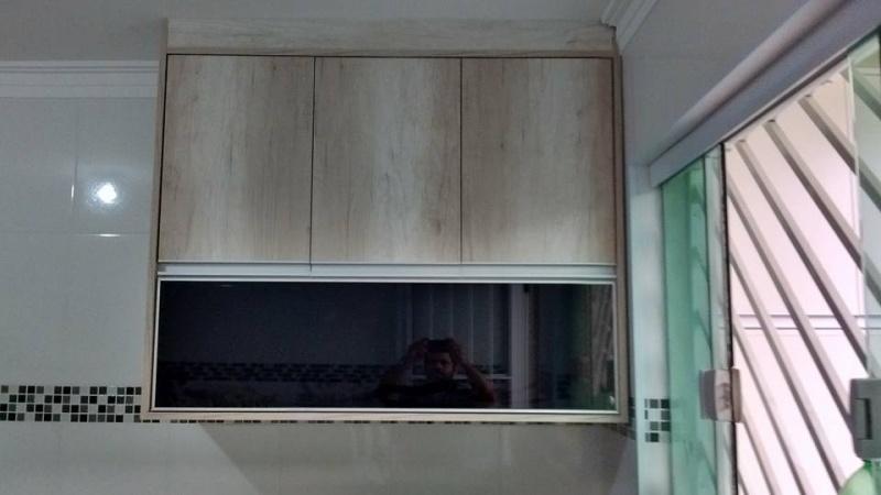 Porta Deslizante com Tv Embutida Juquitiba - Portas para Móveis Planejados