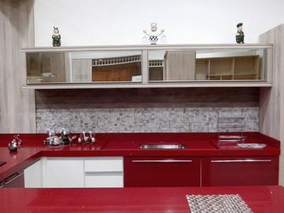 Porta em Alumínio para Móveis de Cozinha Preço Guararema - Portas de Perfil em Alumínio para Móveis