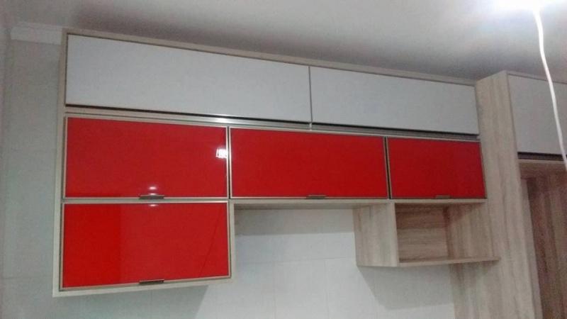 Porta em Alumínio para Móveis Santana de Parnaíba - Portas de Alumínio de Correr para Móveis