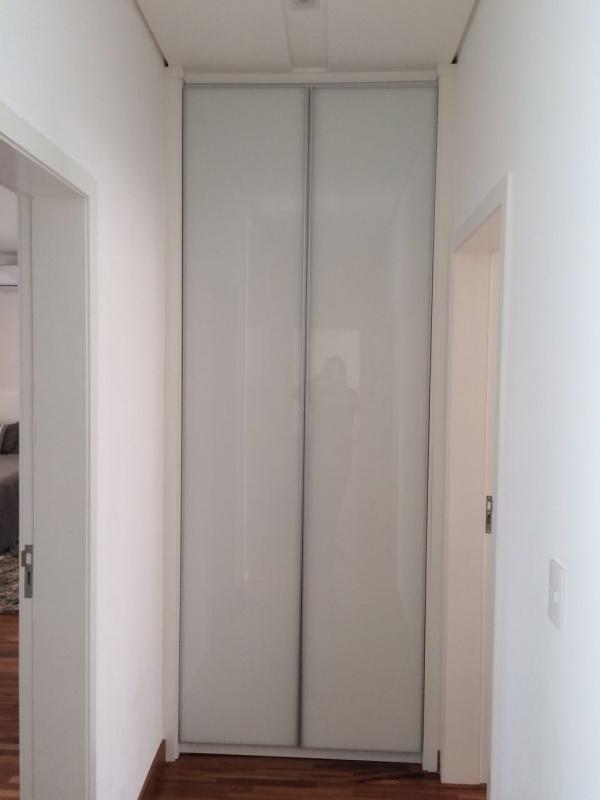 Porta em Perfil Fosco de Alumínio com Vidro Ribeirão Pires - Portas com Perfis de Alumínio