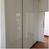 porta de alumínio com vidro para móveis Cajamar