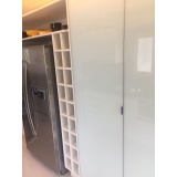 porta de alumínio para móveis Embu