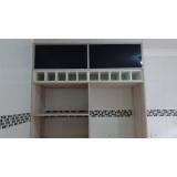 porta em alumínio com vidro para móveis São Paulo