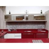 porta em alumínio para móveis de cozinha preço Caierias