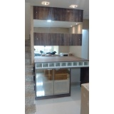 porta em alumínio para móveis de cozinha Jandira