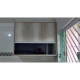 portas de alumínio com vidro para móveis Rio Grande da Serra