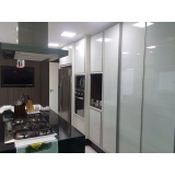 portas de alumínio e vidro para móveis Caierias