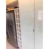 porta de alumínio para móveis