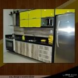 porta em alumínio para móveis de cozinha