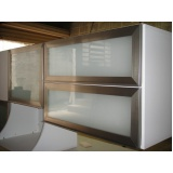 portas de alumínio com vidro para móveis