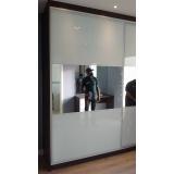 portas em alumínio com vidro para móveis Franco da Rocha