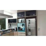 quanto custa portas de vidro com perfil de alumínio para móveis Taboão da Serra